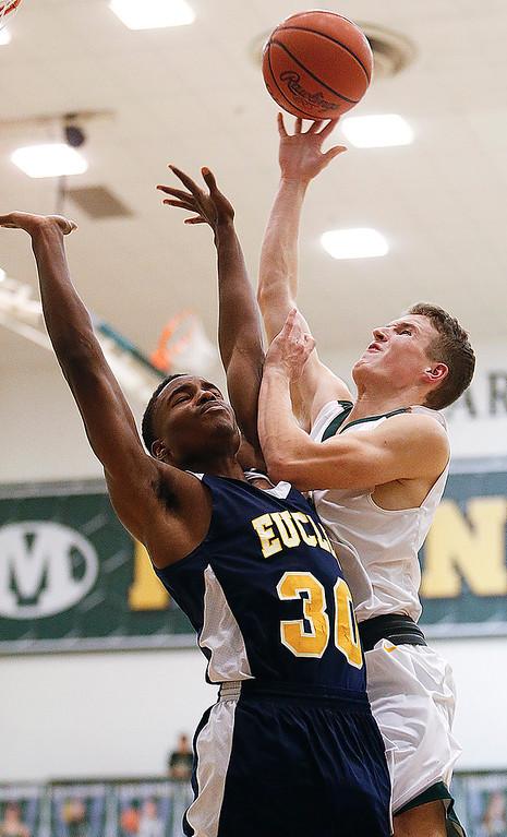 HS Basketball: Euclid @ Medina 12232016