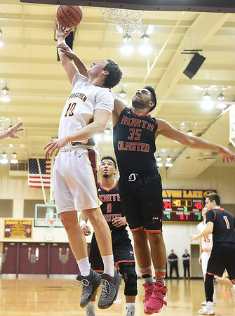 HS Basketball: North Olmsted @ Avon Lake 02242017