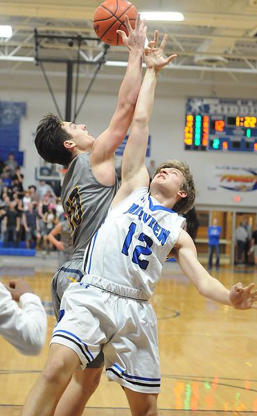 HS Basketball: North Ridgeville @ Midview 02242017