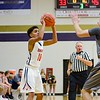 Oberlin's Giles Harrell III shoots a 3 pointer Friday in Vermilion's Tip Off Tournament. JESSE GRABOWSKI / CHRONICLE