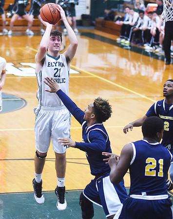 HS Basketball: Warrensville Hts @ Elyria Catholic 03032017