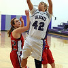 Keystone vs. Lutheran West girls basketball :