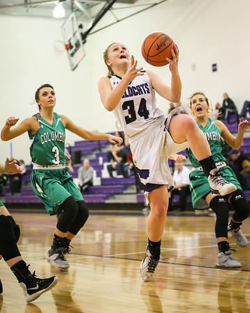 Peters leads Keystone girls over Columbia