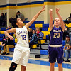 Vermilion's CeCe Dillon shoots over Clearview's Brandyce Smith Dec. 12. STEVE MANHEIM / CHRONICLE