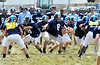 North Penn High School players at morning practice.   Monday, August 11, 2014.   Photo by Geoff Patton