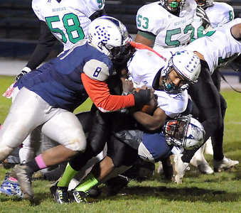 HS Football: Bedford @ Lorain 10212016