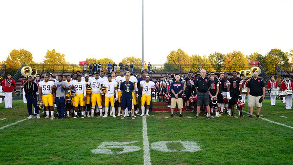 Moment of Silence for Euclid's Andre Jackson. JESSE GRABOWSKI / CHRONICLE