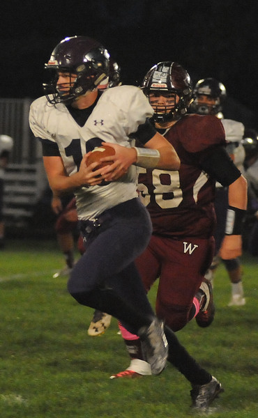HS Football: Keystone @ Wellington 10142016