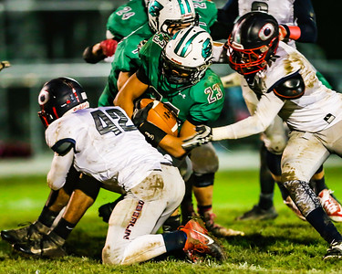 HS Football: Oberlin @ Columbia 10282016