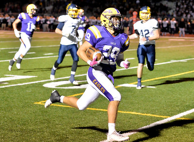 Mason McLemore of Avon scores a touchdown in the fourth quarter against Olmsted Falls. DAVID RICHARD / CHRONICLE