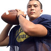 Mike Mees : Mike Mees, North Ridgeville High School quarterback, Sept. 24, 2009. Story about Mike Mees in The Chronicle-Telegram. Photo by Steve Manheim.