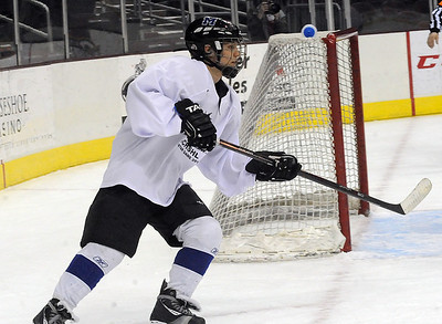 Jake Lyons of Midview in the GCHSHL All-Star game at Quicken Loans Arena on Mar. 7.   Steve Manheim