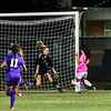Amherst's Lexy Alston (6) scores past Avon goalie Maggie Beatty (1) in a game Wednesday. JOE COLON / CHRONICLE