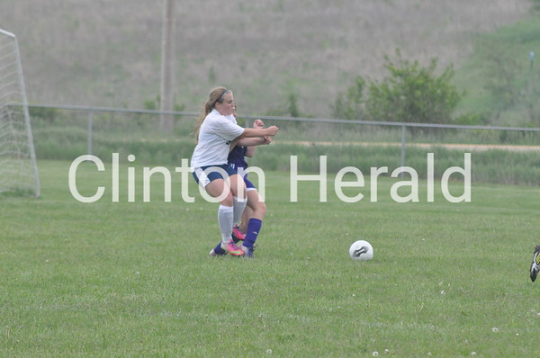 Central DeWitt at Northeast girls soccer (5-28,29-13)