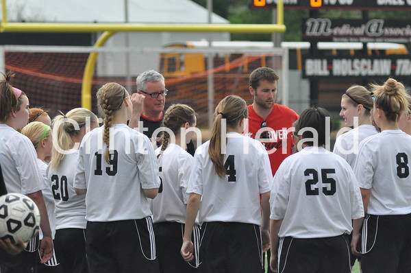 Dav. West at Clinton girls soccer (5-20-14)