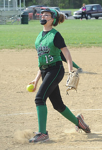 Columbia's Kailey Minarchick pitches May 8.  Steve Manheim