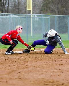 Keystone's Sammie Stefan slides safely into third in a game against Firelands on Monday. JOE COLON/CHRONICLE
