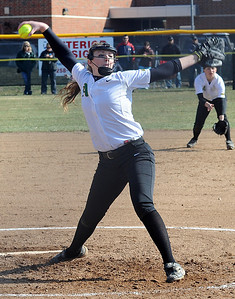 Amherst's Zoe Beetler had six strikeouts for her third win of the season. STEVE MANHEIM/CHRONICLE