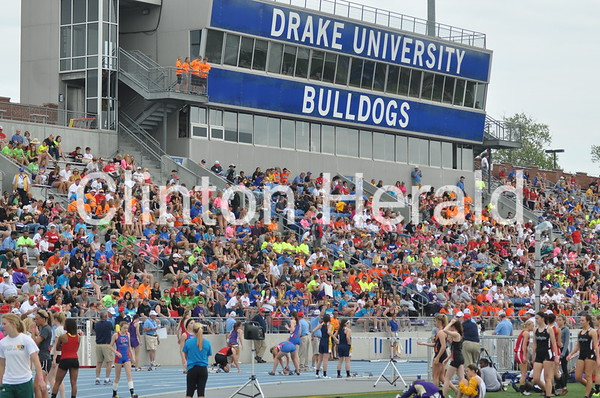 Iowa state track and field: Thursday 1A, 4A