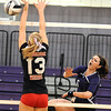 Brookside vs Keystone volleyball :