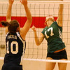EC vs. Oberlin volleyball :