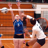 Elyria Catholic vs Clearview volleyball :
