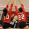 Elyria v Medina volleyball :