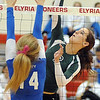 Trinity vs Elyria Catholic volleyball :
