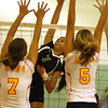 Amherst vs. Brecksville volleyball :