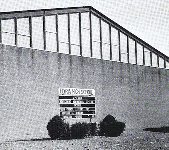 Historical picture of the Elyria High gym.
