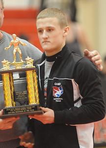Sebastian Vidika of Black River 2014 Wrestler of the Year.  Steve Manheim