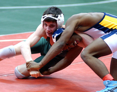 Westlake Nick Lawrence loses to Jerome Robinson , St Ignatius, in Consolation match.   Steve Manheim