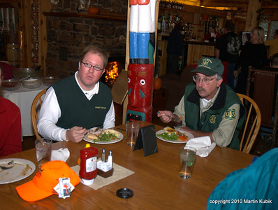 Joining us for dinner were Jon Benson and Tom Kaffine of the US Forest Service.