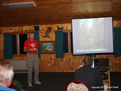 I gave a spiel about the Kekekabic Trail, what to look for, what to avoid and how to cross numerous beaver dams and emerge dry.
