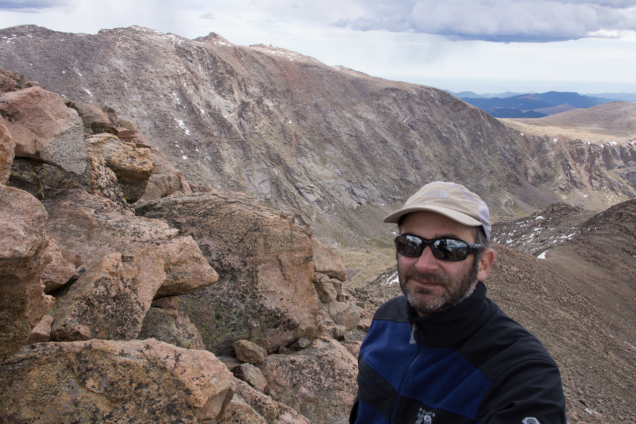 Me with Mt. Evans in the background.