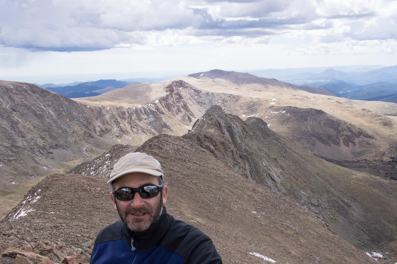 Getting my mountain man look.