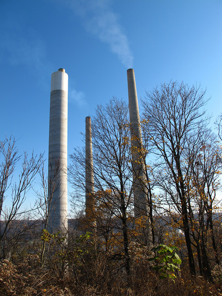 Some kind of energy plant that seems mired in controversy.
