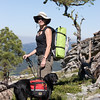 Backpackers on Donner Summit, Placer County