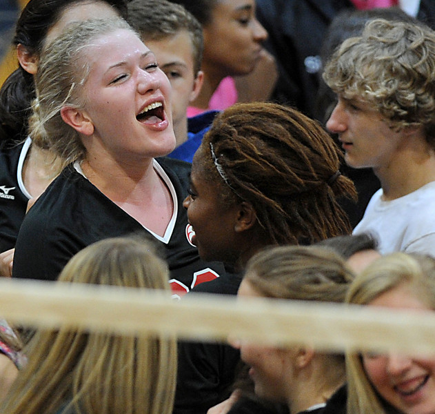 The Hillcrest Rams beat Rock Hill in the Upper State Volleyball Championships. <br /> GWINN DAVIS PHOTOS<br /> gwinndavisphotos.com (website)<br /> (864) 915-0411 (cell)<br /> gwinndavis@gmail.com  (e-mail) <br /> Gwinn Davis (FaceBook)