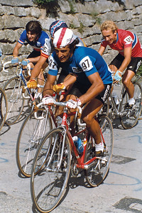 4.9.1983: WM 1983 Altenrhein, Luciano Loro (ITL) and Jostein Wilman (NOR)