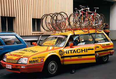 1.5.1988 Henninger Turm - Team Hitachi Citroen