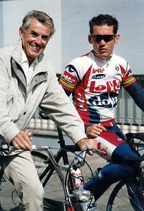 Hans Galler und Robbie McEwen