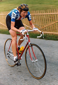 Olympic champion 1984 Connie Carpenter during WC 1983 at Altenrhein.