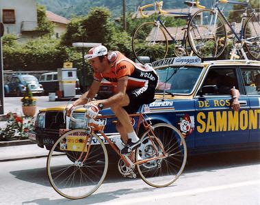 Giro 83 - 'Wasserträger'  Pierre-Raymond Villemiane Team Wolber