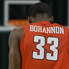 Eric Bonzar—The Morning Journal<br> Youngstown State forward Naz Bohannon and the Penguins traveled to Cleveland, Jan. 1, 2018, to face the Cleveland State Vikings in a Horizon League match-up. The Penguins improved to 3-11 with a 80-77 win over the Vikings.