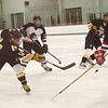 Record-Eagle/Douglas Tesner<br /> <br /> HS Hockey Bay Reps vs Cadillac