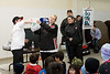 Prize draw at Hockey Development Camp in Moose Factory