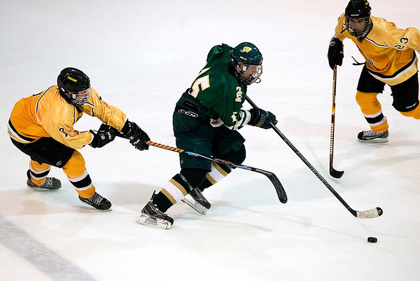 Record-Eagle/Jan-Michael Stump<br /> Traverse City West vs Traverse City Central Wednesday at Howe Arena.