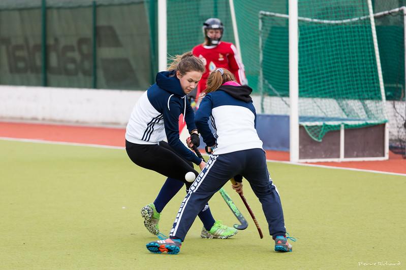 Entrainement Equipe de France Dames