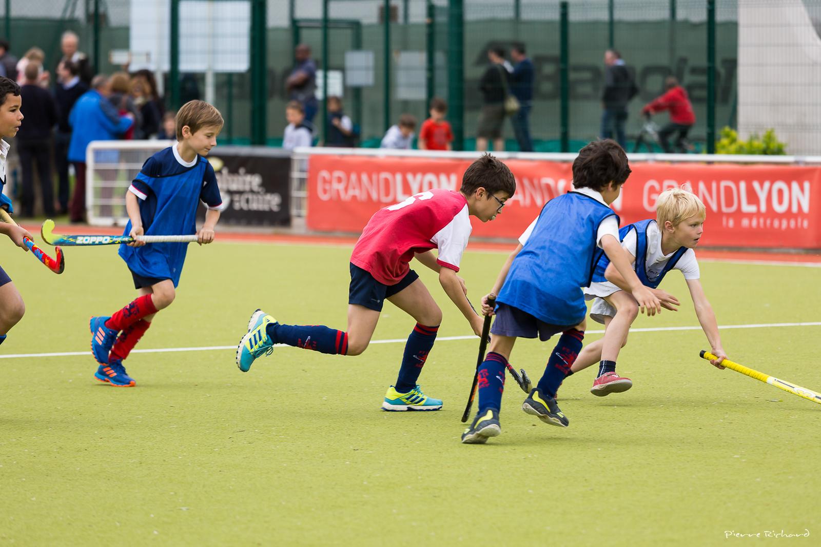 Tournoi de Hockey sur Gazon U10 du FC Lyon Hockey
